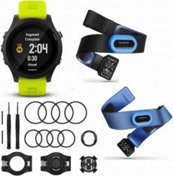 Andorra-Garmin Forerunner 935 Triathlon Bundle Pack (Black with Yellow Straps)
