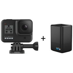 Andorra-Gopro Hero8 Black Dual Battery Charger Kit+32GB