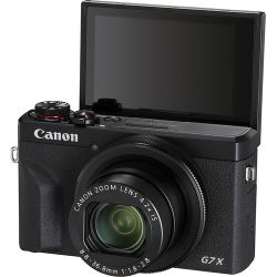 Andorra-Canon PowerShot G7 X Mark III Black+8GB+Funda