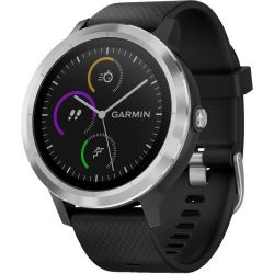 Andorra-Garmin Vívoactive 3 Black with Stainless Hardware