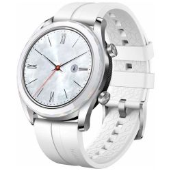 Andorra-Huawei Watch GT Elegant Edition White Stainless Steel 42mm